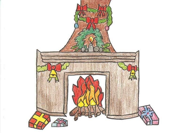 zukunft kinder e v selb hochfranken weihnachten am kamin. Black Bedroom Furniture Sets. Home Design Ideas